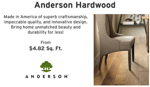 L and M Anderson Hardwood Sale